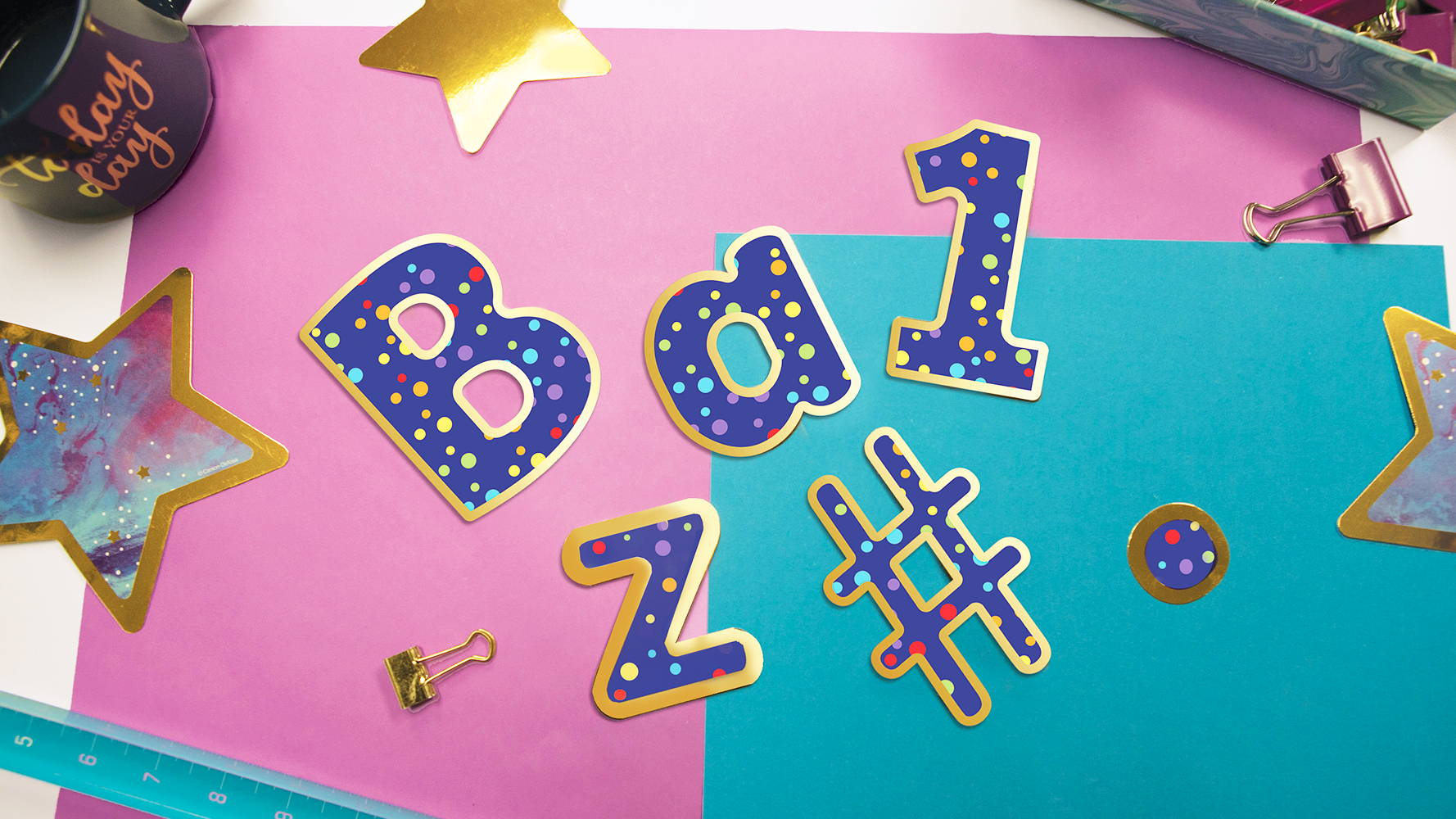 Sparkle Shine EZ Letters