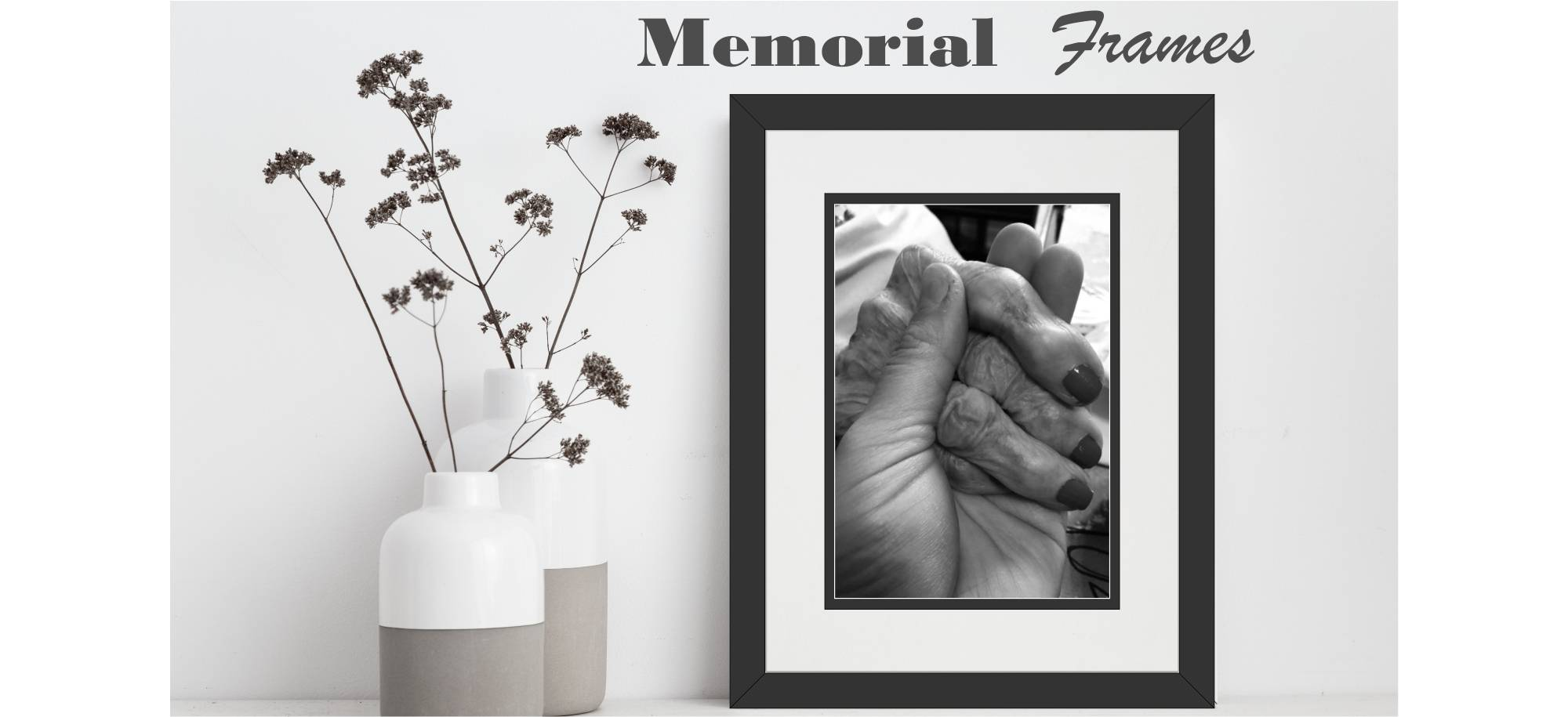 memorial  picture frames