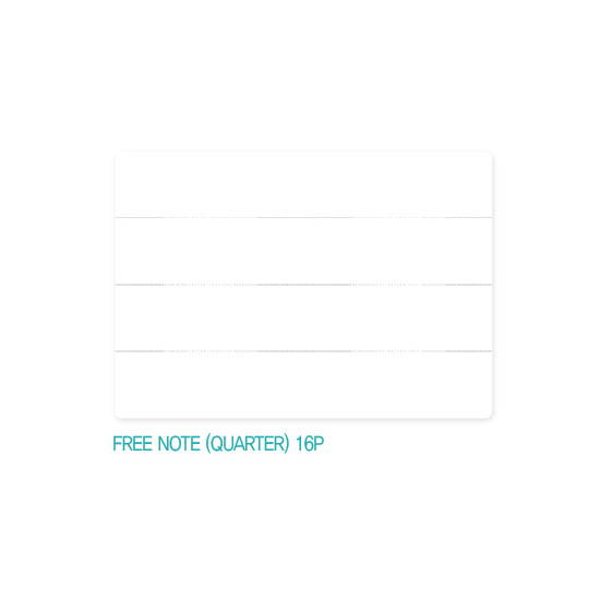 Quarter note - Appree Origin diary dateless weekly planner journal
