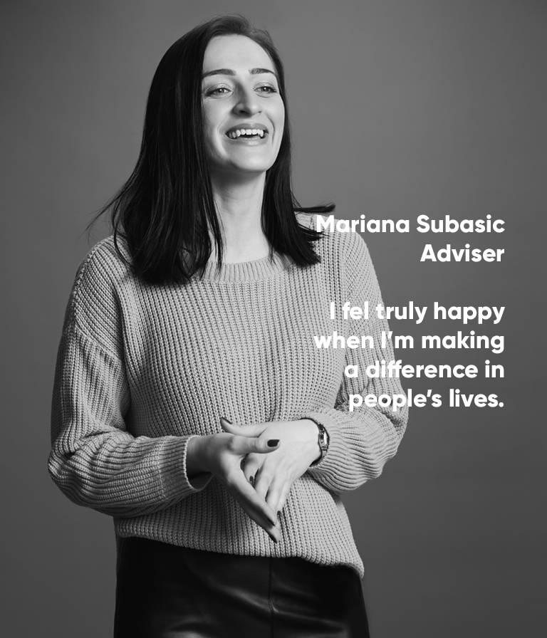 Mariana Subasic, Adviser