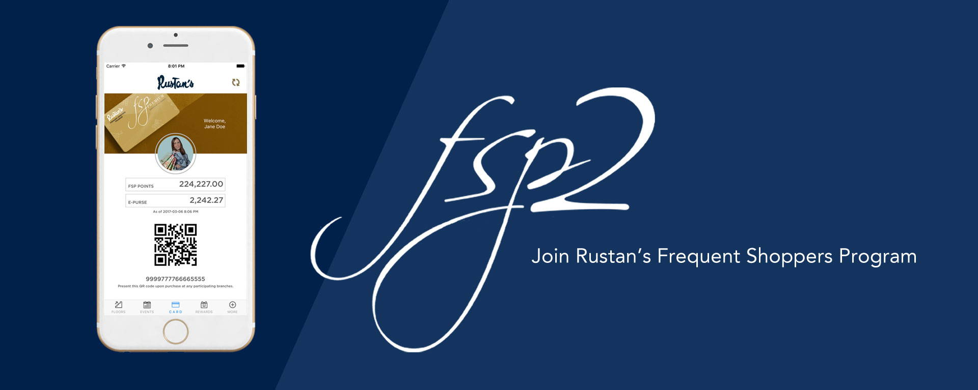 Join Rustan's Frequent Shoppers Program