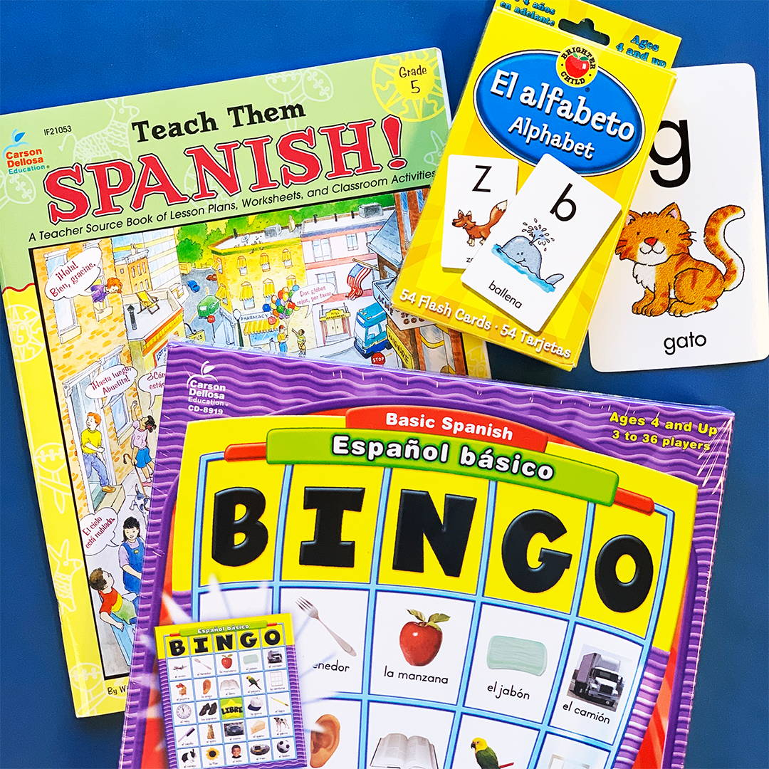 Spanish Book and Games