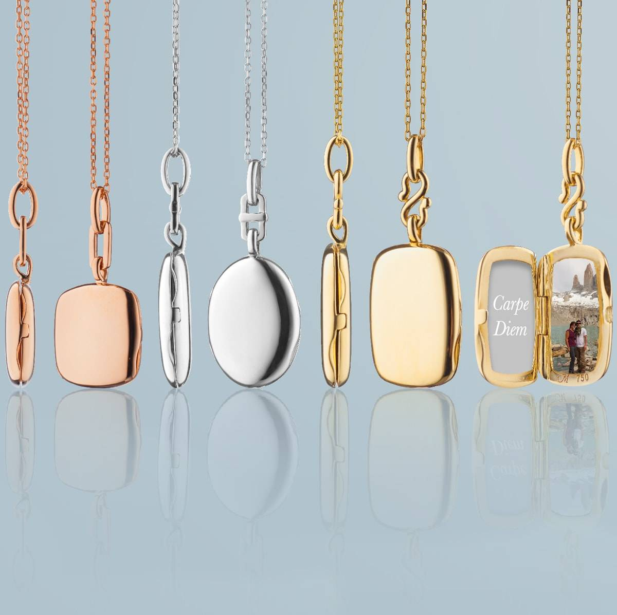 The Slim Locket Collection