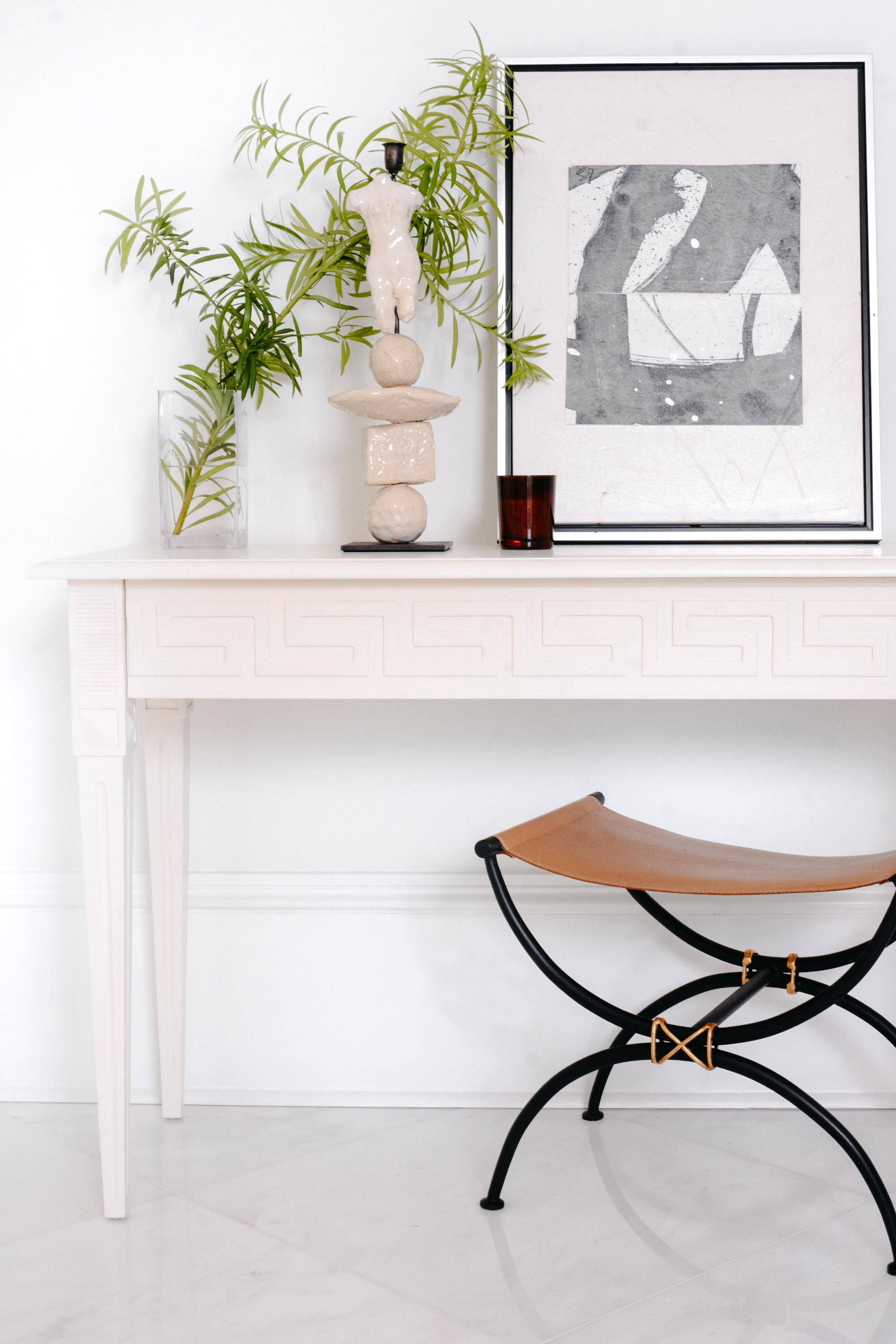 Ave Home | Athena Console and Chloé Stool