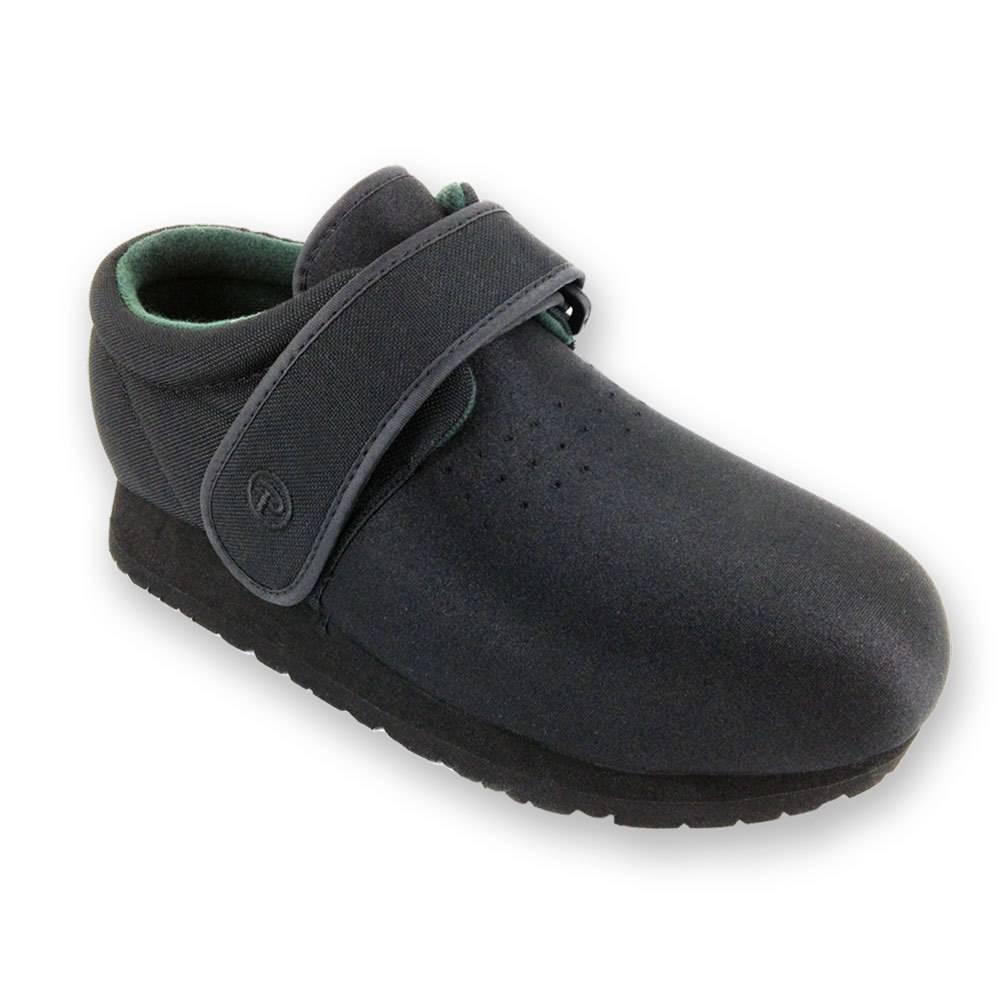 Pedors Black Classic Shoes For Swollen Feet Edema Lymphedema