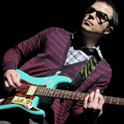 Rivers Cuomo of Weezer recycled guitar string bracelets and jewelry