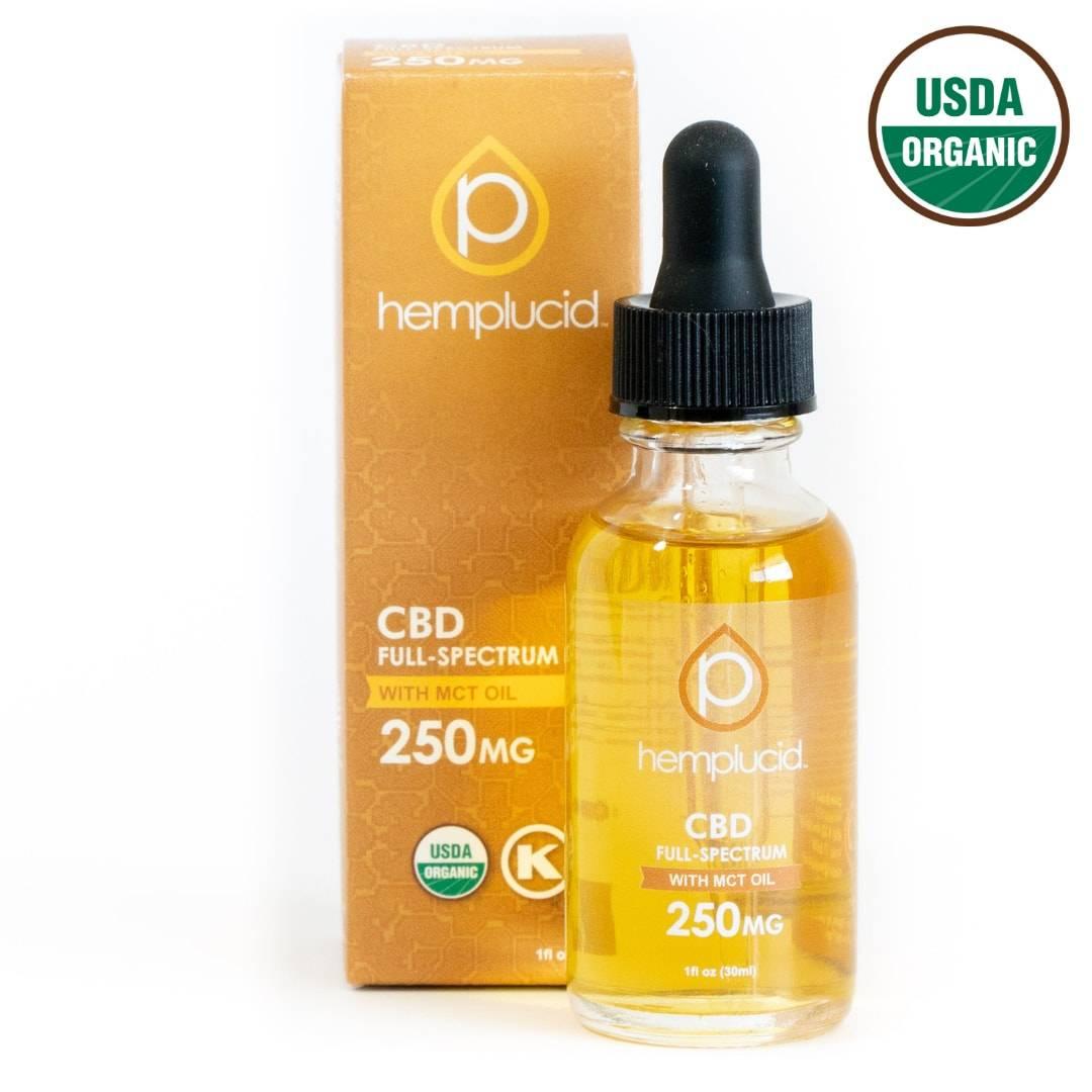 USDA Organic Full-Spectrum CBD MCT Oil