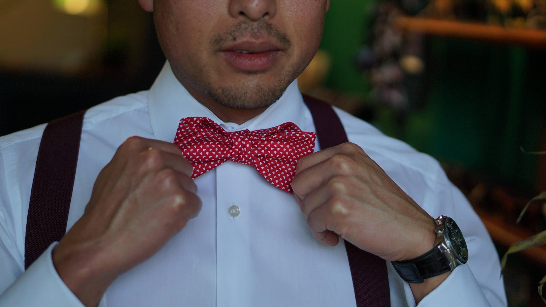 Cloth bow ties