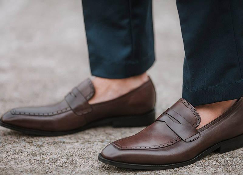 65ff455671e Tomaz F129 Penny Loafers (Coffee) - Tomaz Shoes