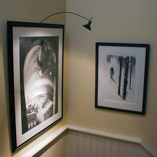 House of Troy Inspiration Art LIghting Lifestyle Room AG-7