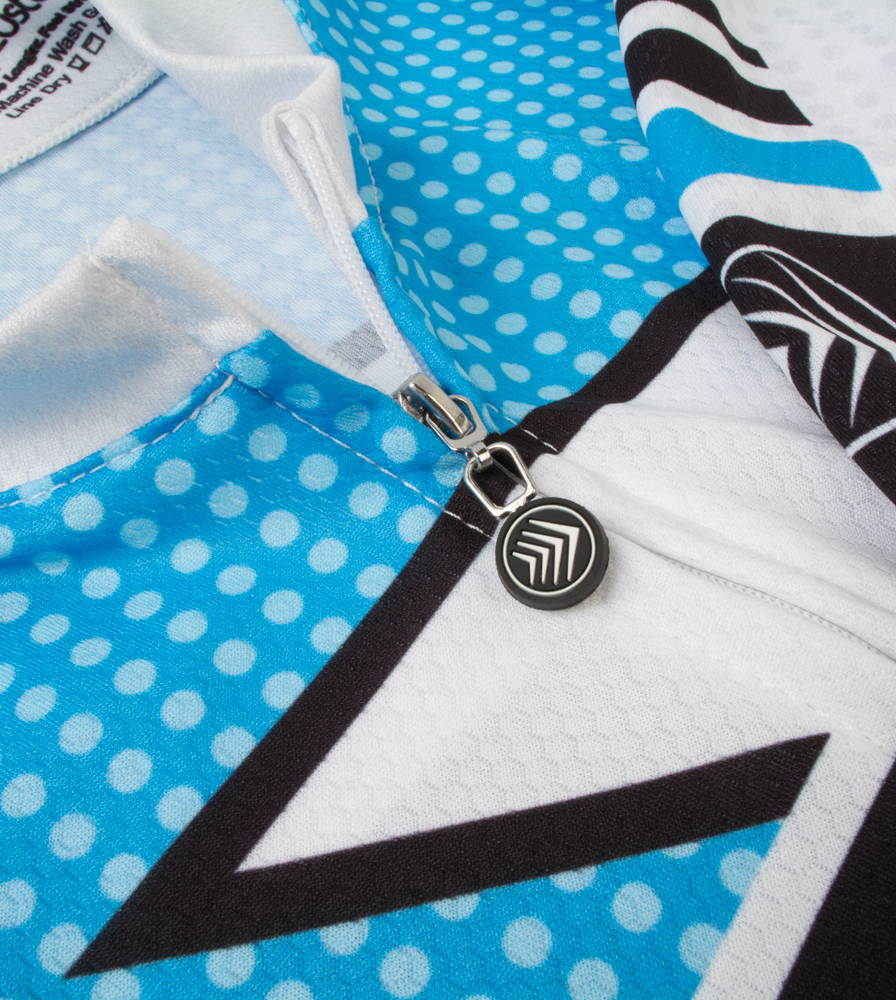 Metric Bike Jersey Zipper
