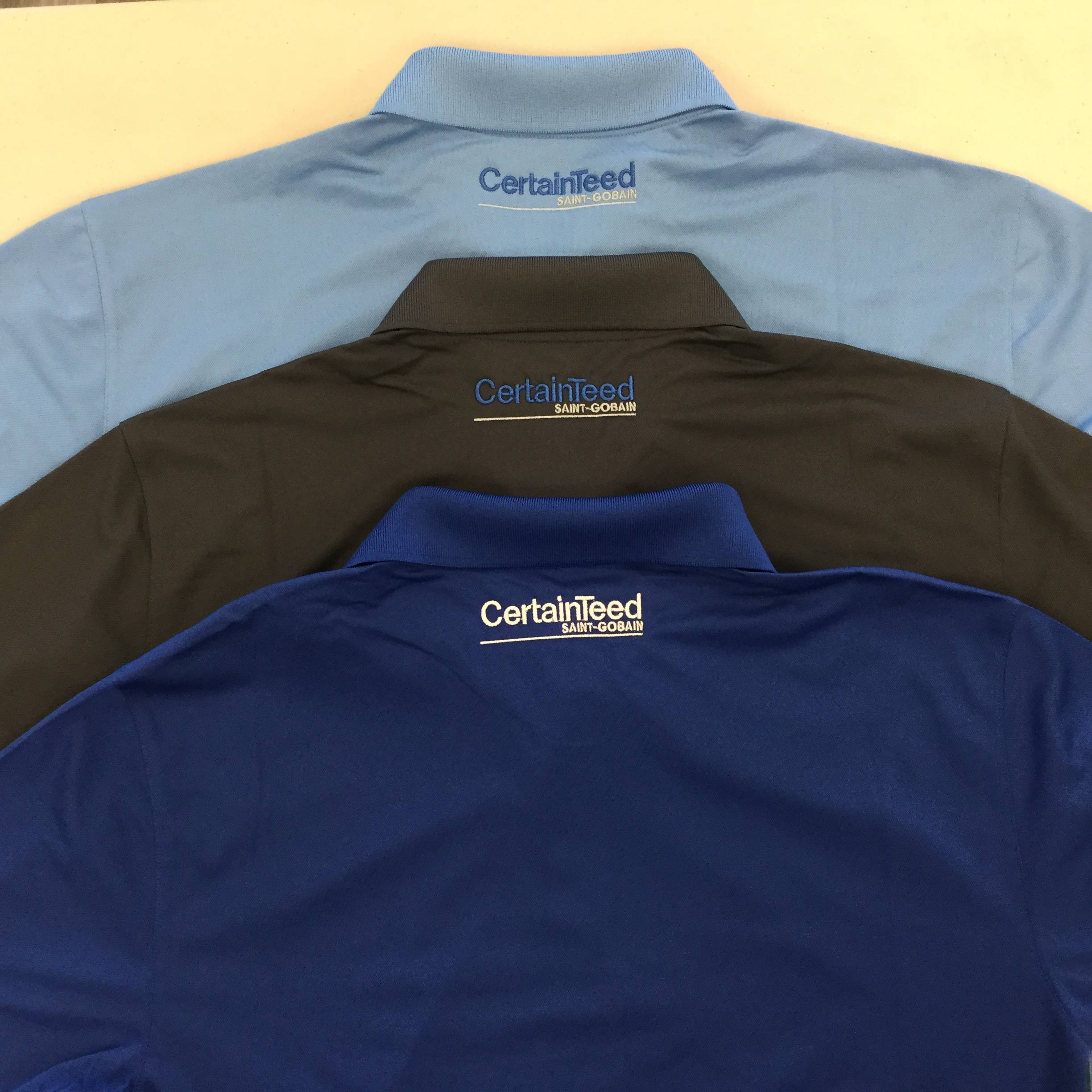 Custom Embroidered Golf Shirts Example