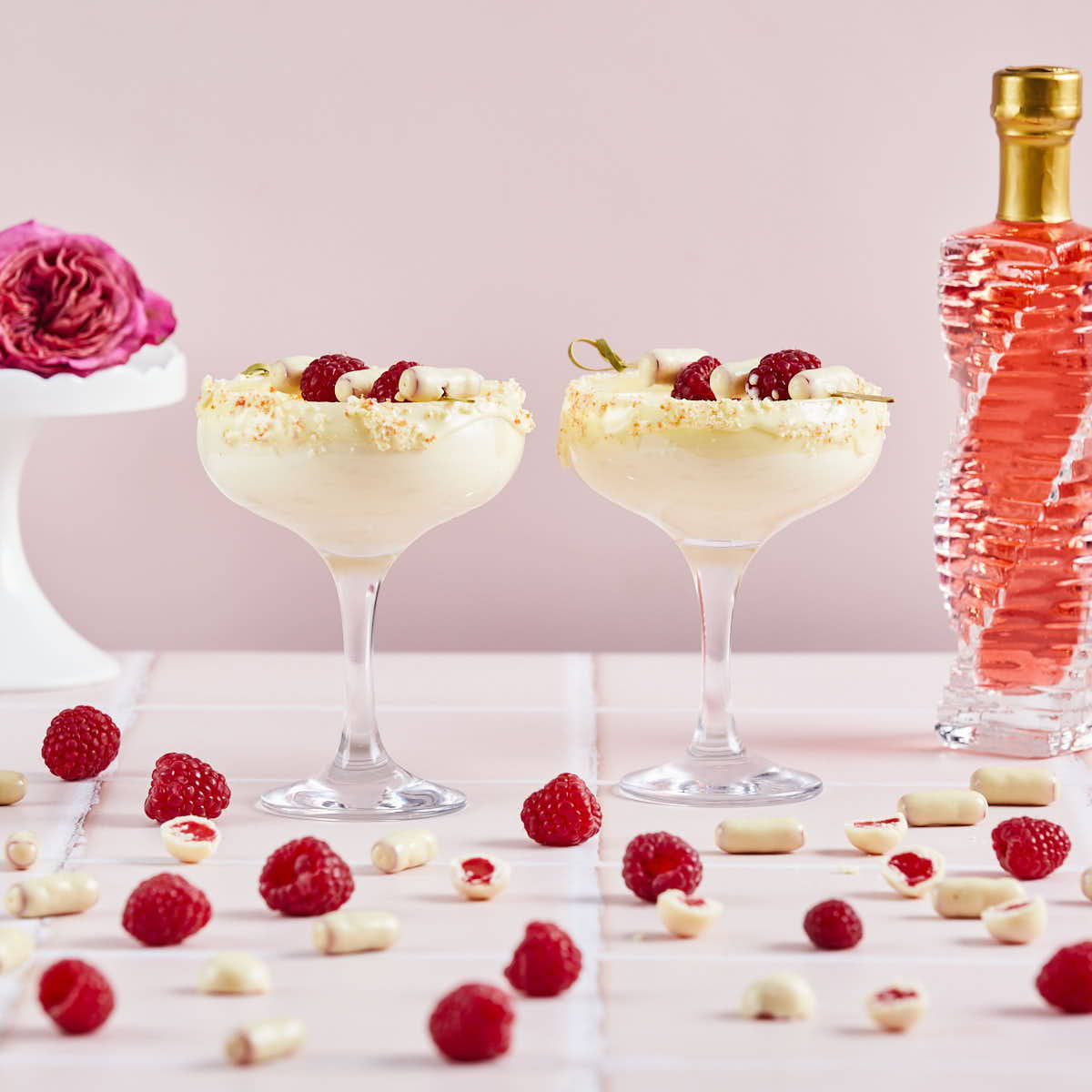 White Chocolate & Raspberry Martini - Flaschengeist