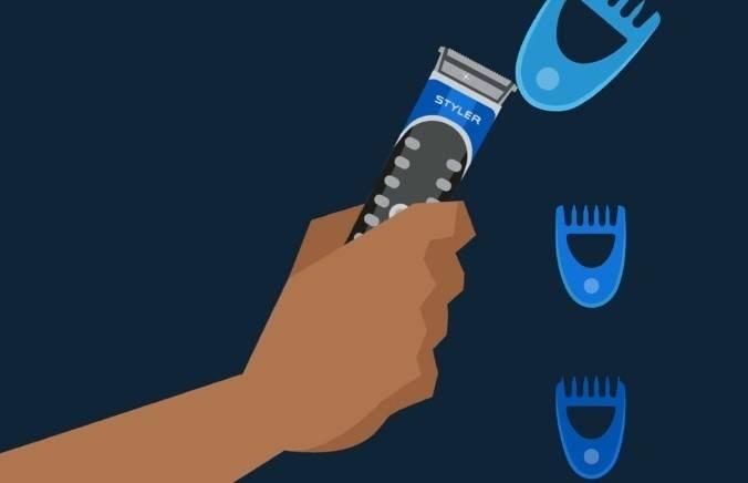 Select a fixed comb length
