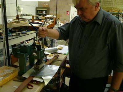 tender co belt brass silver foil heat press