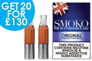 Las mejores ofertas en las mejores recargas de vape del Reino Unido Original Tobacco