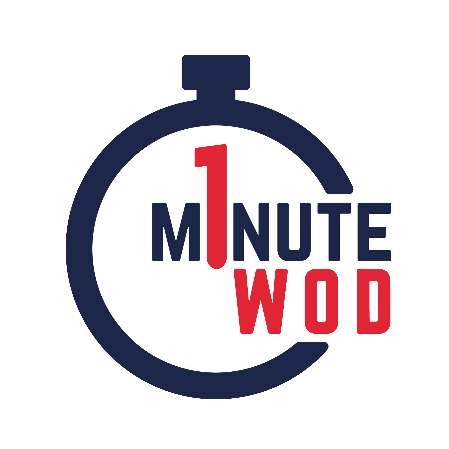 1 Minute WOD Logo