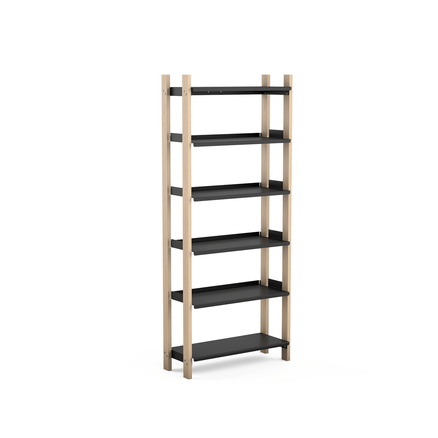Rendering of a tall shelf