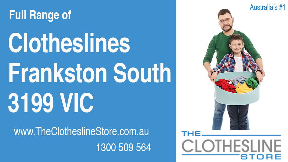 New Clotheslines in Frankston South Victoria 3199