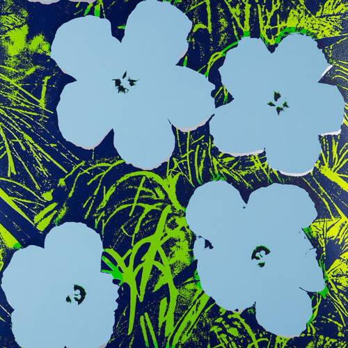 Andy Warhol x Flavor Paper Warhol Flowers Wallpaper