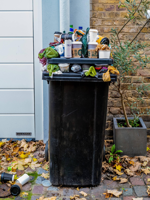 Mezcla de residuos