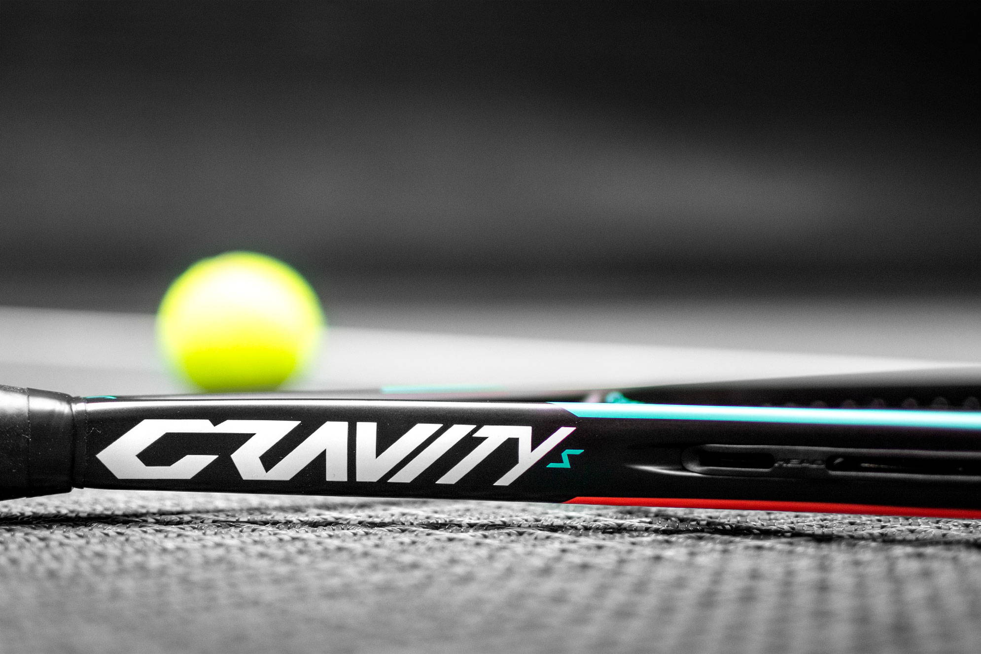 HEAD GRAVITY racquet closeup