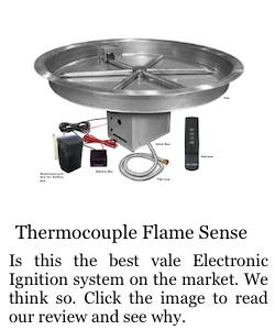Thermocouple Flame Sense Ignition System