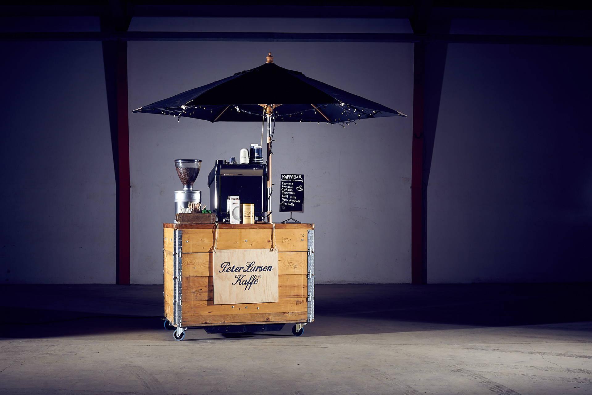 Palleramme kaffebar