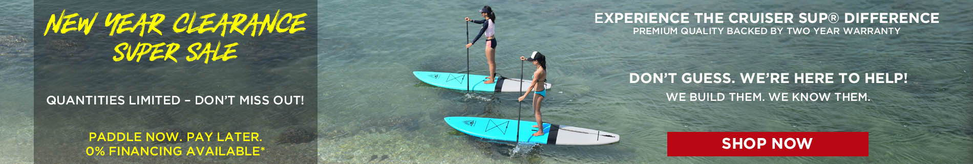 women paddle boarding on Cruiser SUP Escape