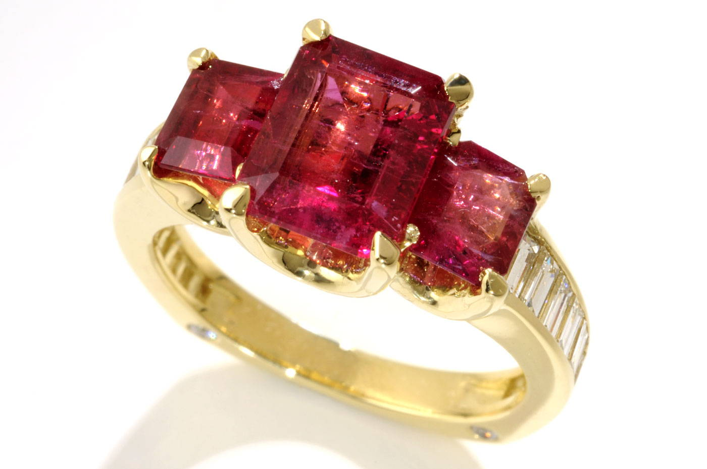 Image of Lester Lampert Berylicious Ring for The Chicago Field Museum Project