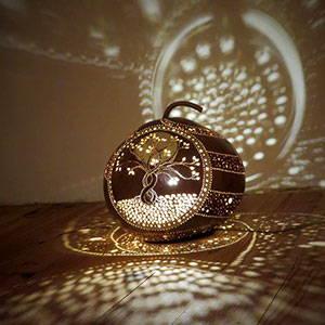 Gourd art by Patrick Decerf
