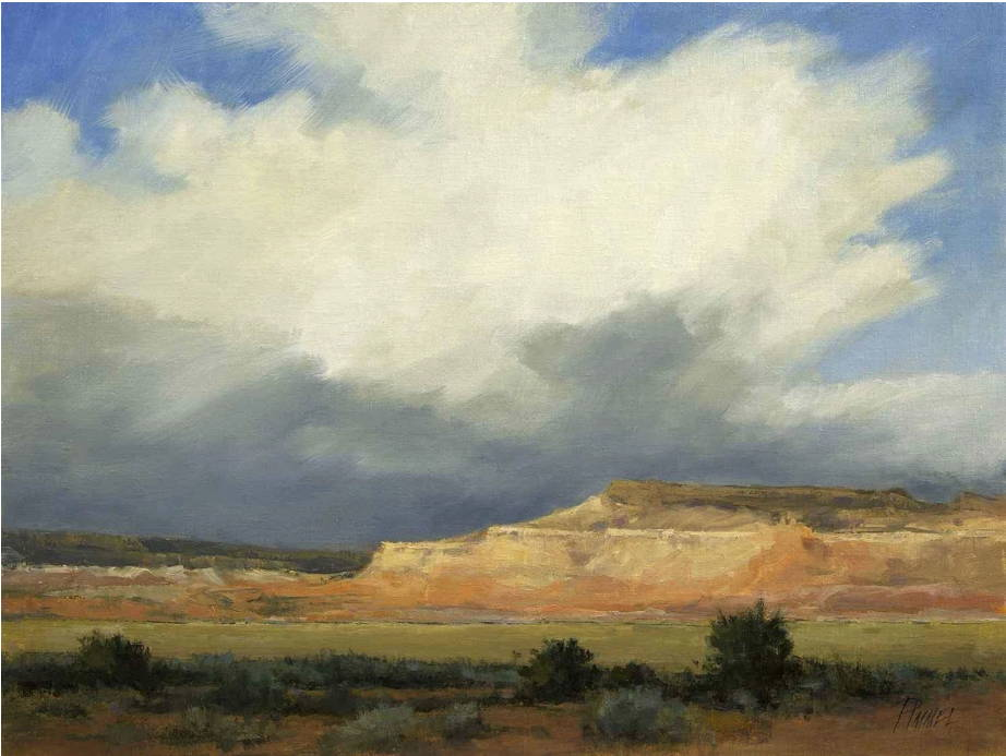 Peggy Immel. Landscape Art. Fine Art. Plein Air Painting. Santa Fe Art Gallery