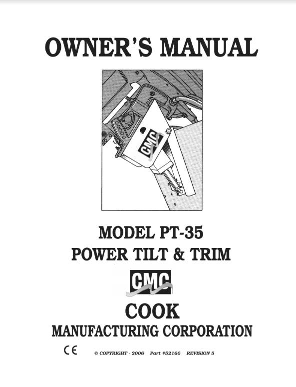 CMC Owner's Manuals - T-H Marine Supplies on