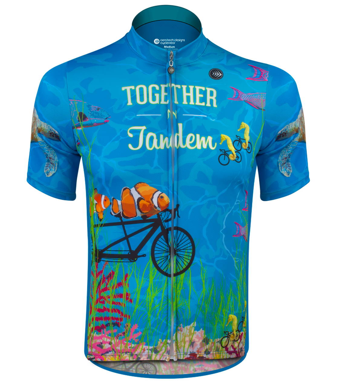 together in tandem Cycling Jersey