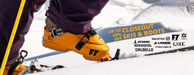 Shop Skis & Boots