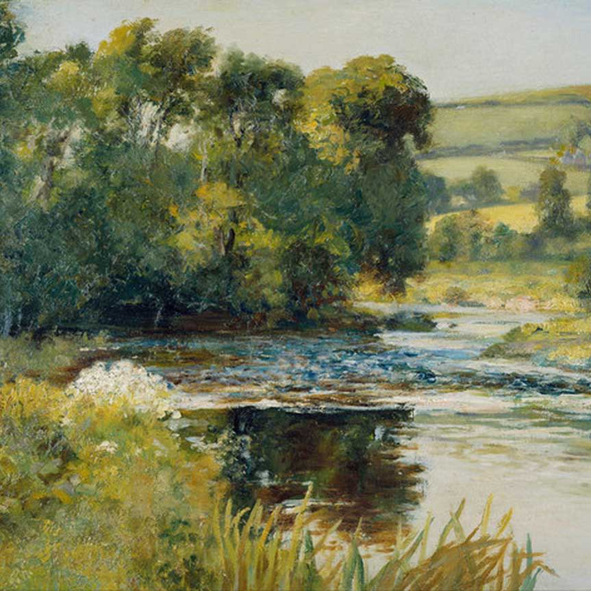 Edward Mitchell Bannister Art