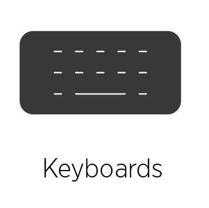 Keyboards for iPad
