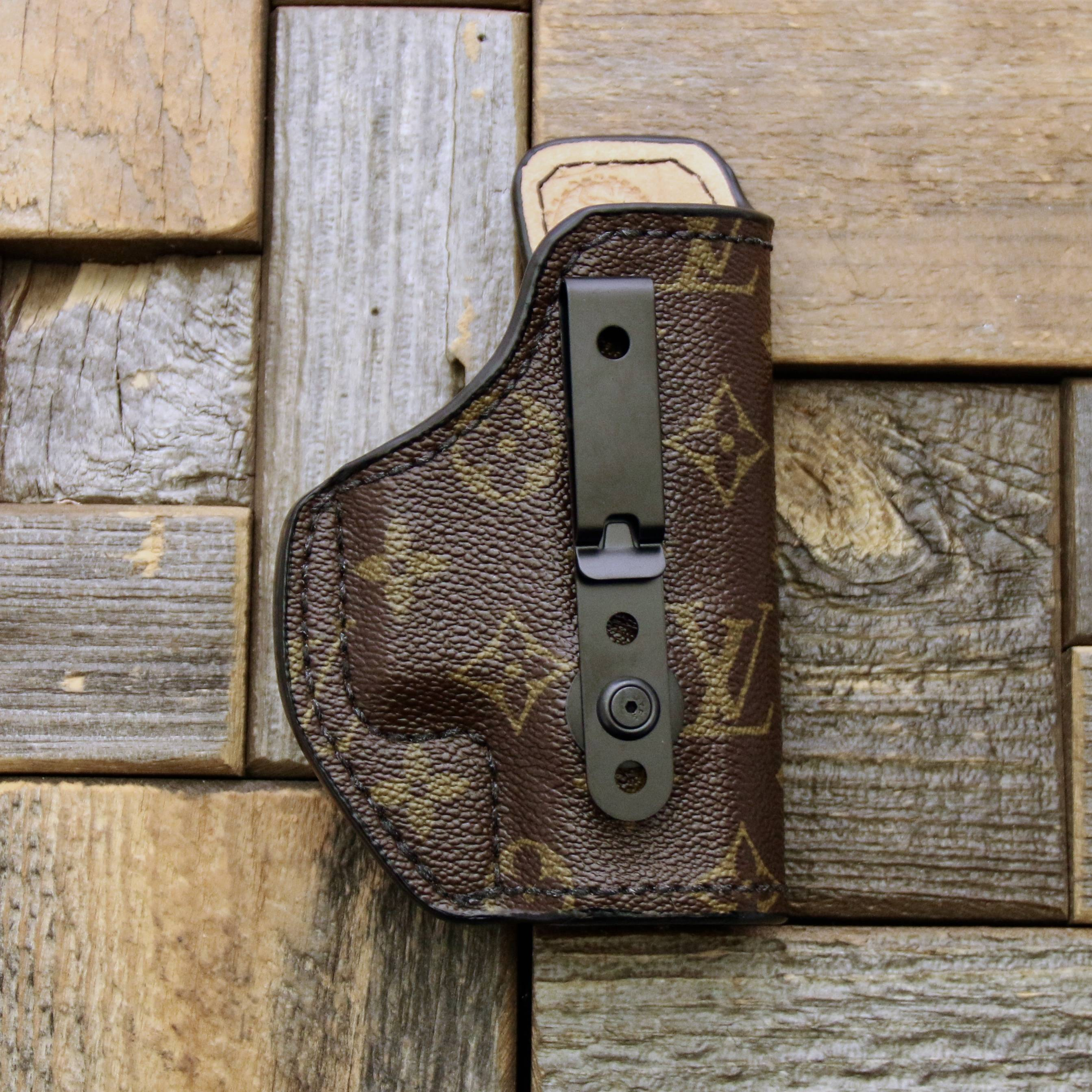 custom Louis Vuitton concealed holster for purse