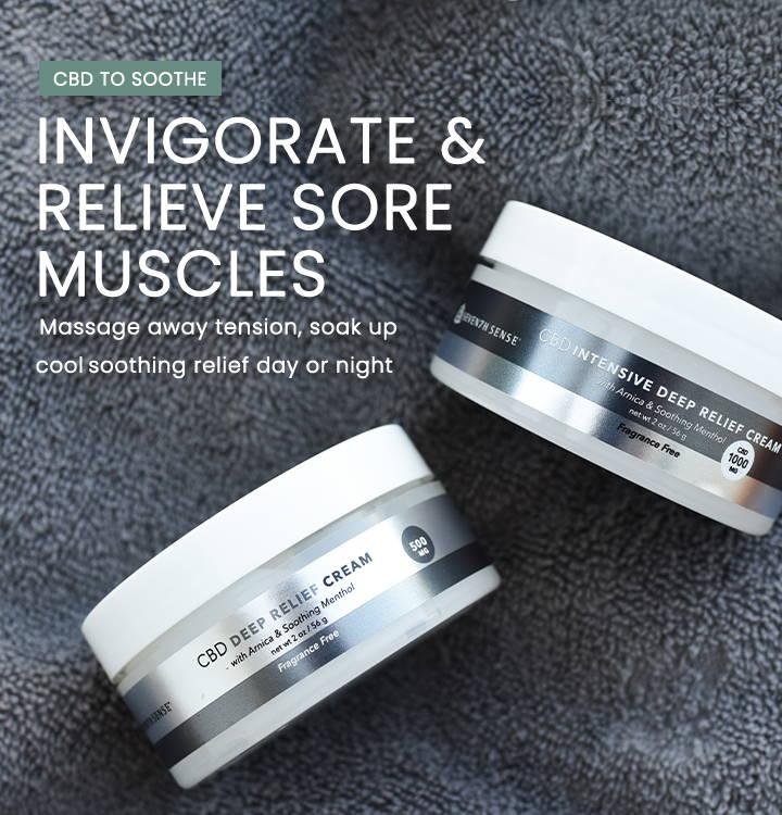 Invigorate & relieve sore muscles