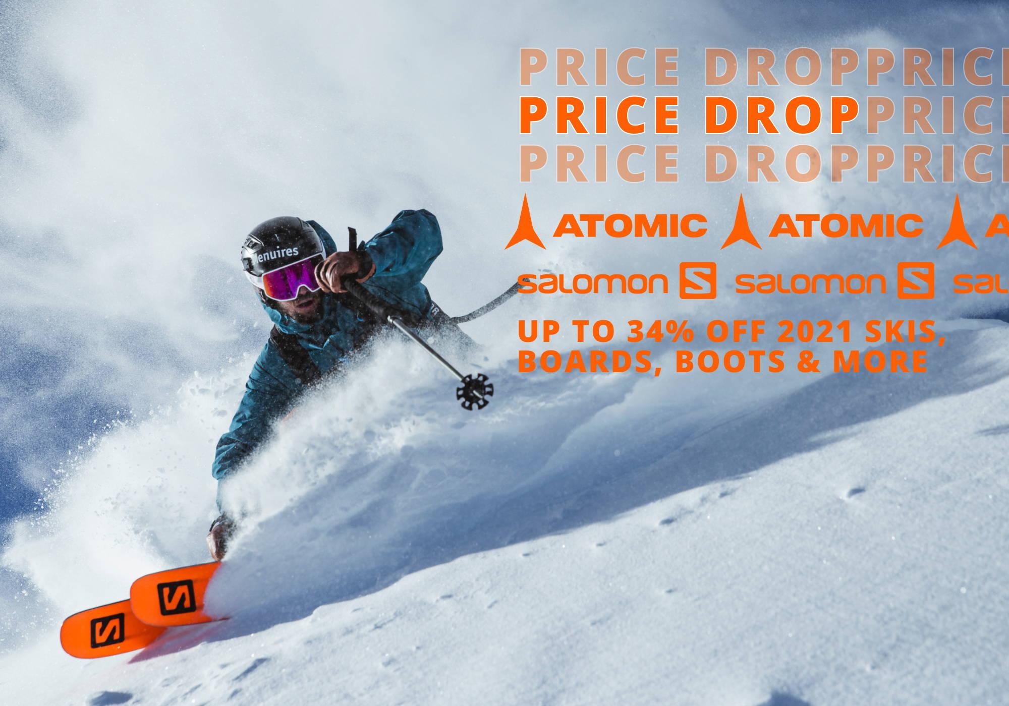 Price Drop Salomon Atomic