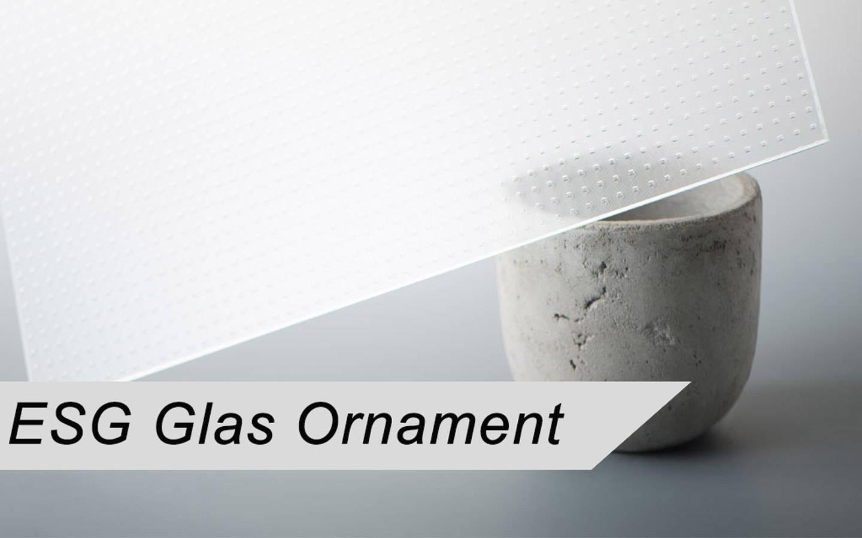 ESG Ornamentglas nach Maß
