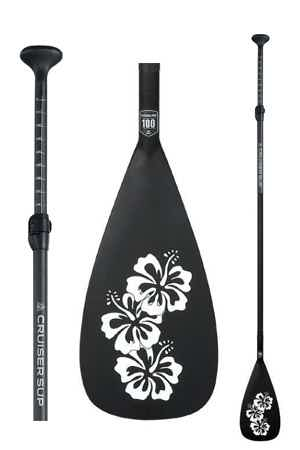 Women's carbon paddle board paddle by Cruiser SUP