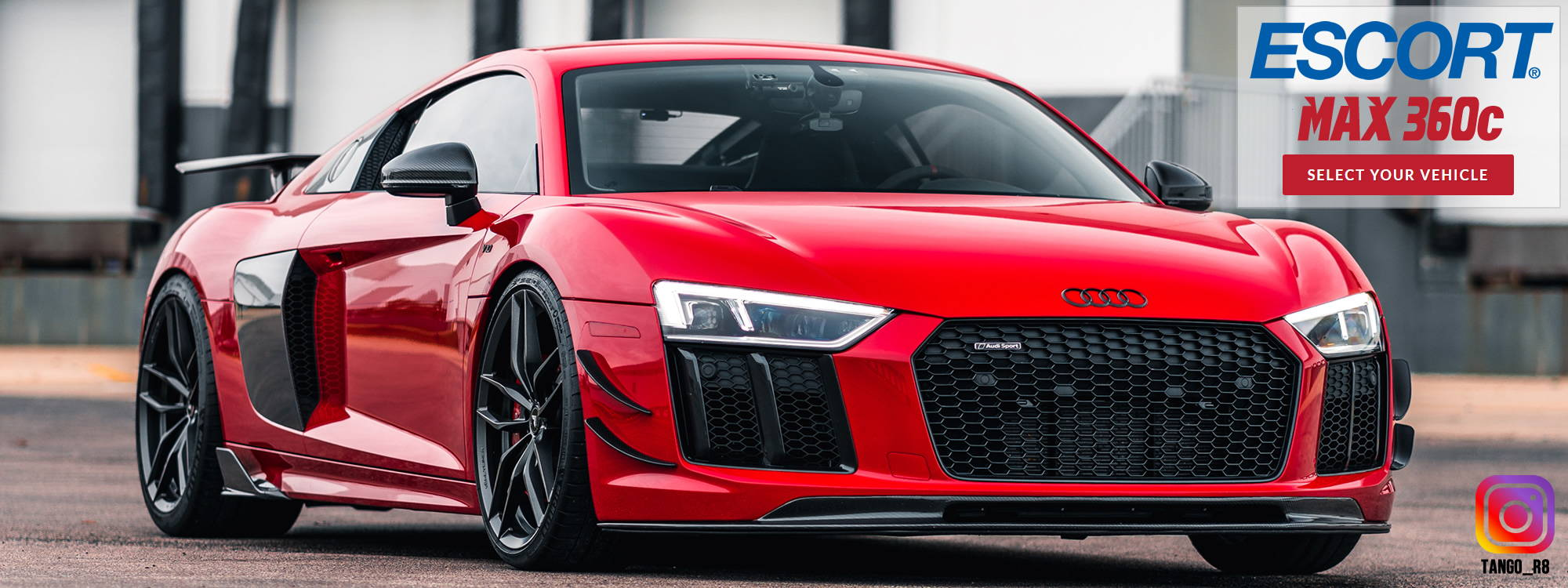 BlendMount audi r8 radar mount