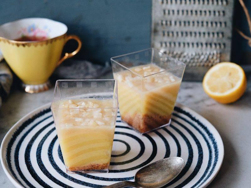 verrine tarte au citron la boite du chef