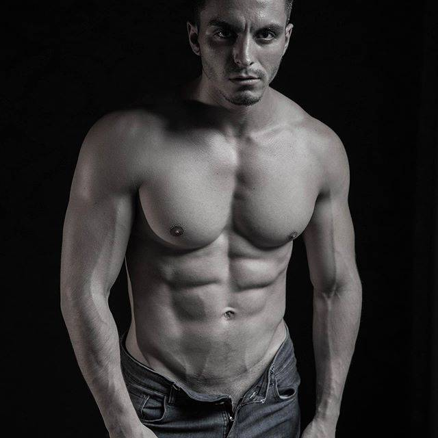 Showcase by Ulises Puiggros - Male Model Lean Wayne @lean.wayne, Naked male, male hunk, gym fit model