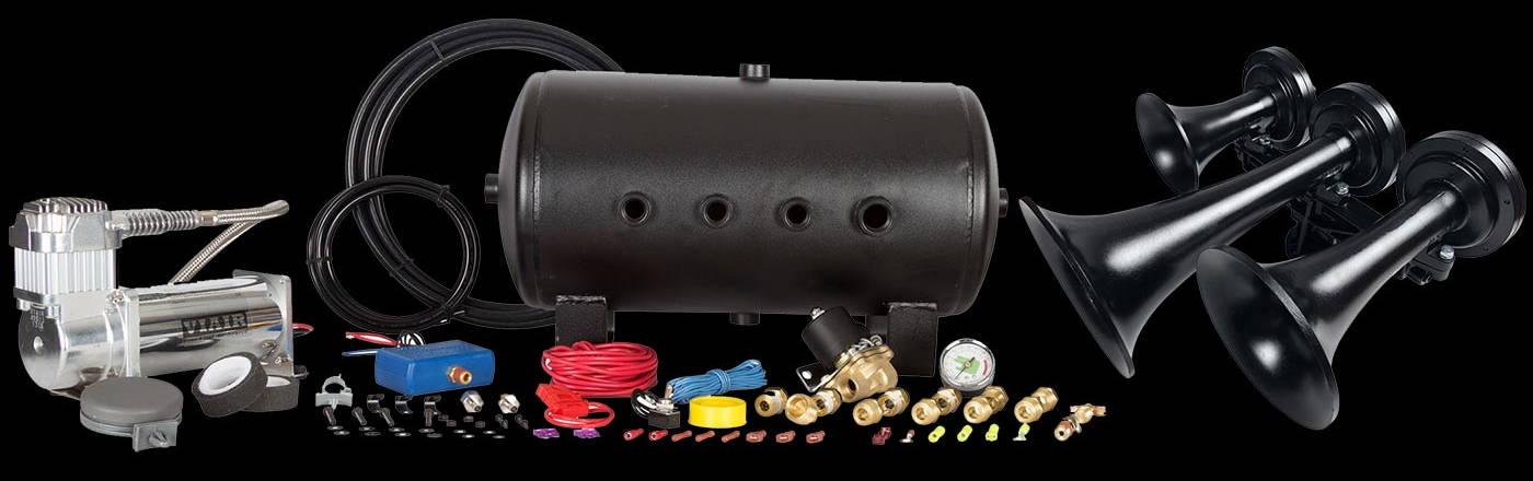 HornBlasters Nathan Airchime K3 540 Train Horn Kit