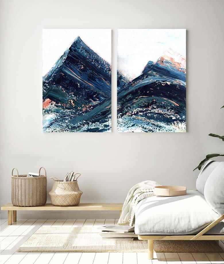 Copper Hills Art Bloom Canvas Print