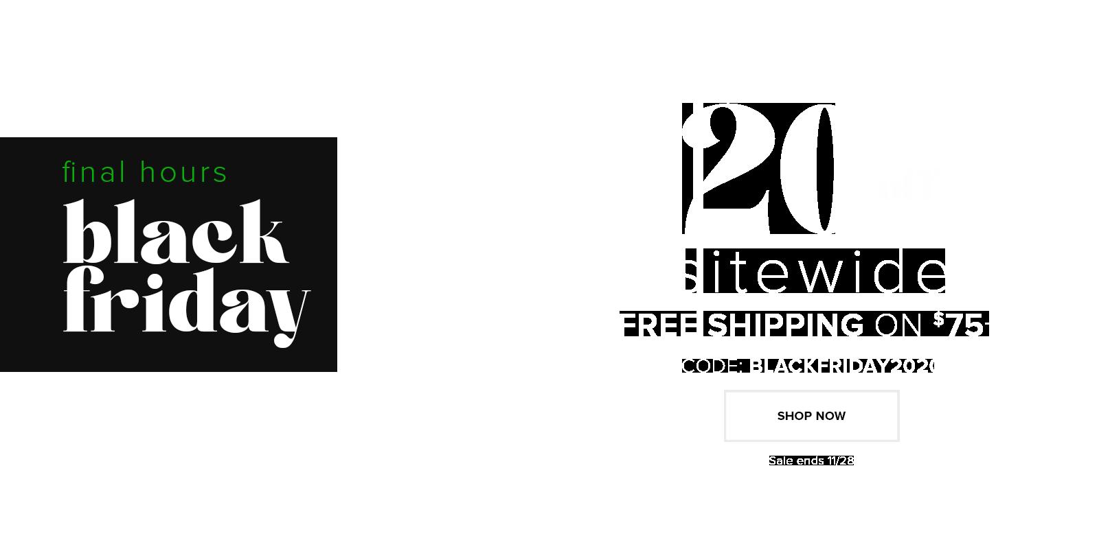 shop black friday