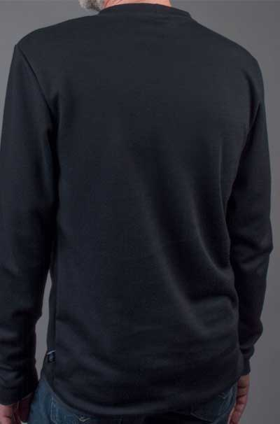 Merino Wool Base Layer Model Back