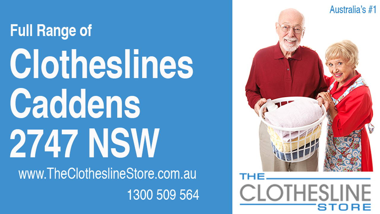 New Clotheslines in Caddens 2747 NSW